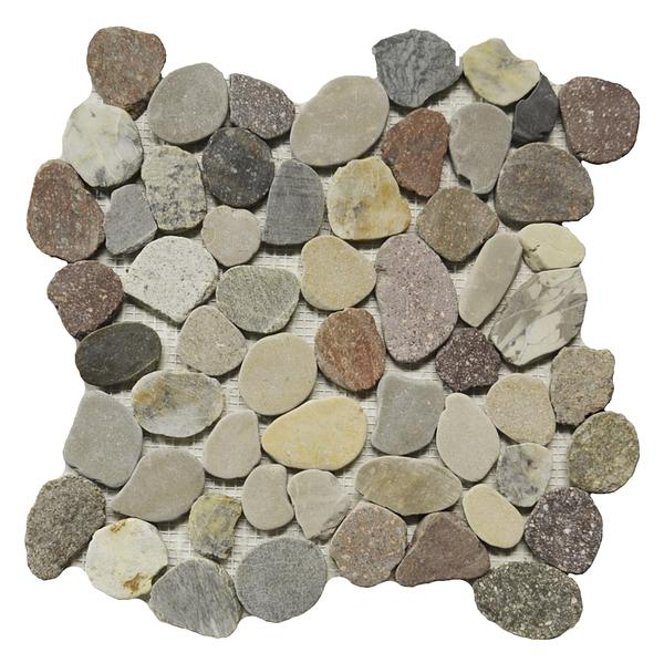 Mix Color Pebbles 12x12
