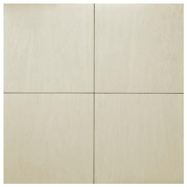 Travertino Roma Branco Ceramic Tile 24x24