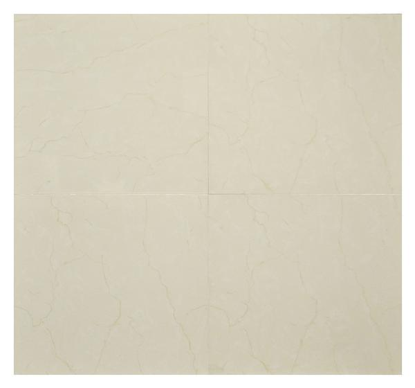 Millenium Cream Polished Porcelain Tile 20x20