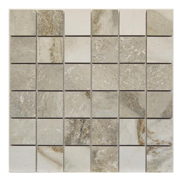 Royal Grey 2x2 Mosaic