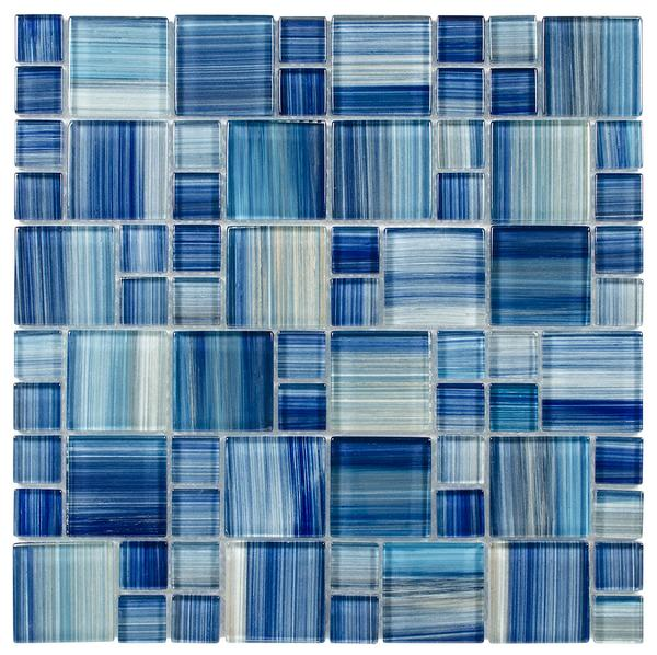 Water Brush Puzzle Glass Mosaic