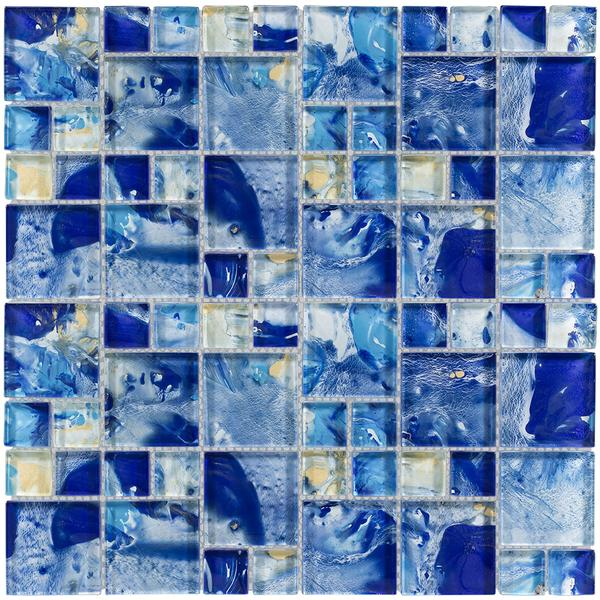 Michelangelo Ocean Glass Mosaic
