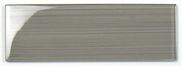 Strips Beige Glass Tile 4x12