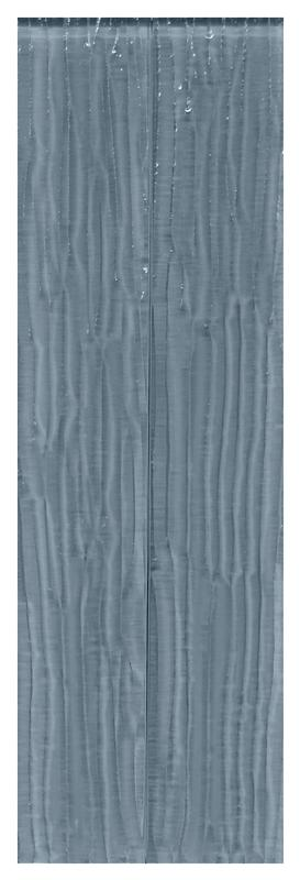 Bamboo Metro Blue Glass Tile 2x12