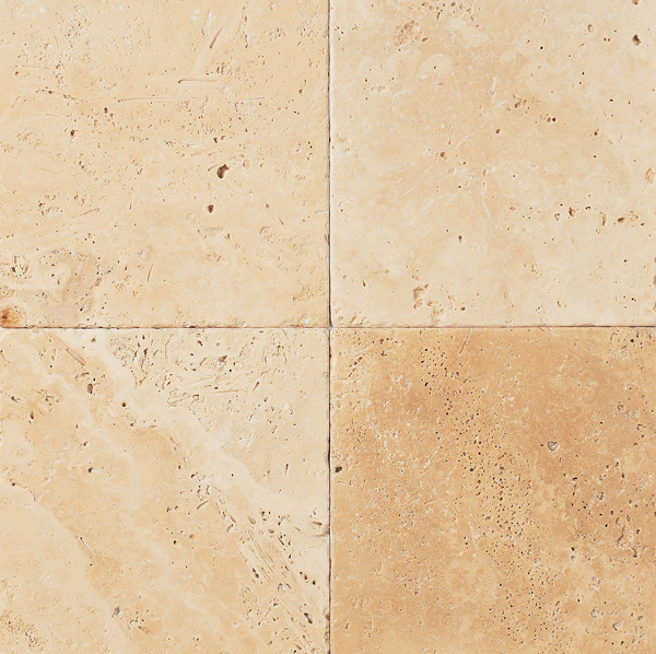 Classic Travertine Premium Tumbled 12x12