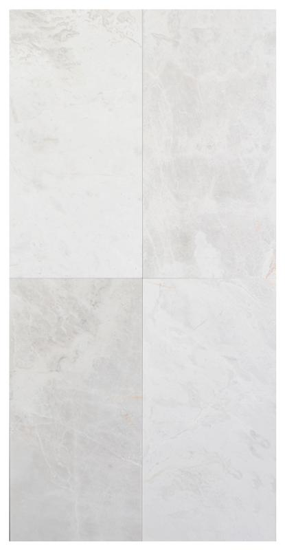 Pearl White Marble Polished 12x24