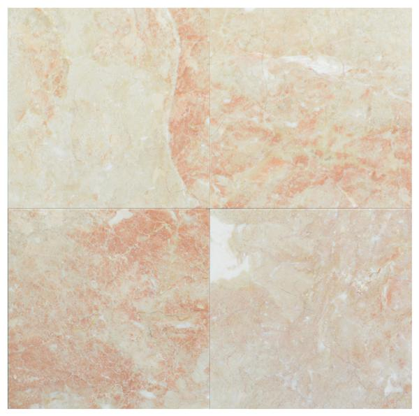 Crema Rosso Marble Polished 12x12
