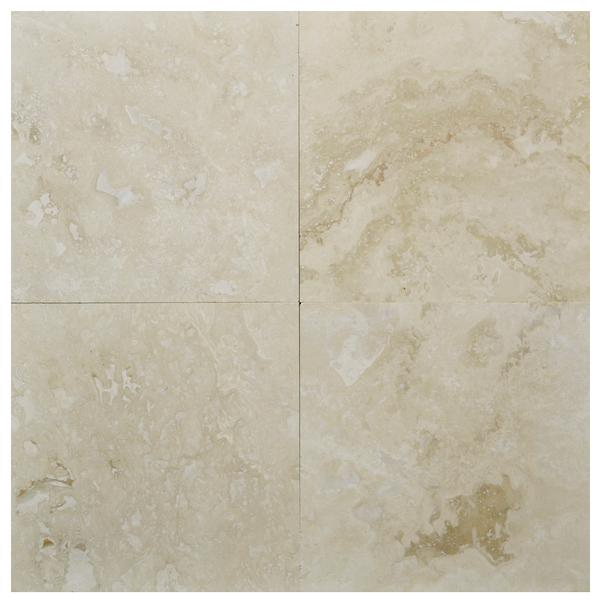 Light Travertine Commercial HF 12x12