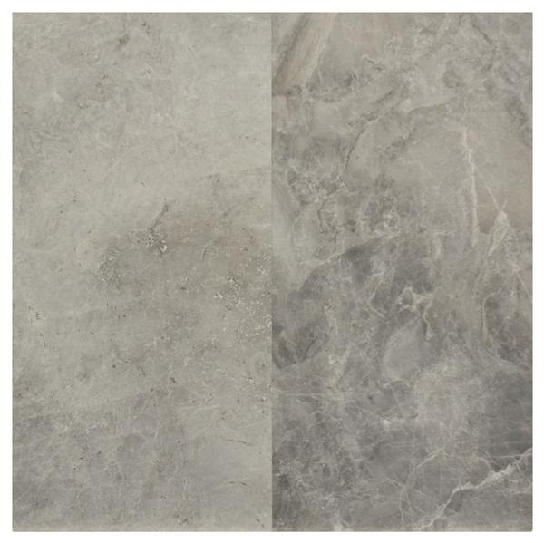 Silver Grey Marble Polished 12x24